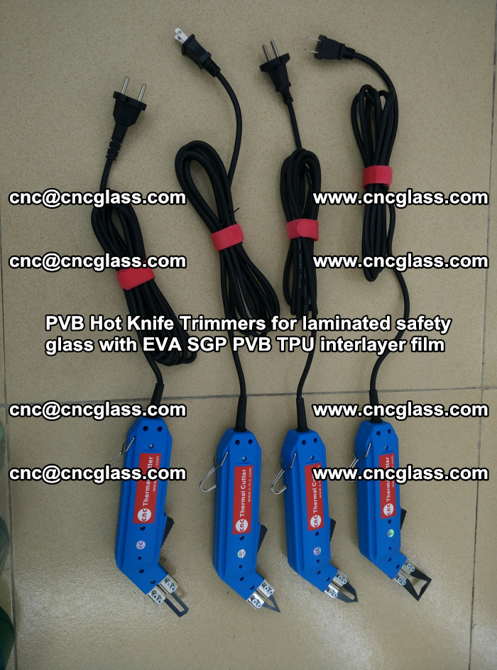 PVB Hot Knife Trimmers for laminated safety glass with EVA SGP PVB TPU interlayer film (56)