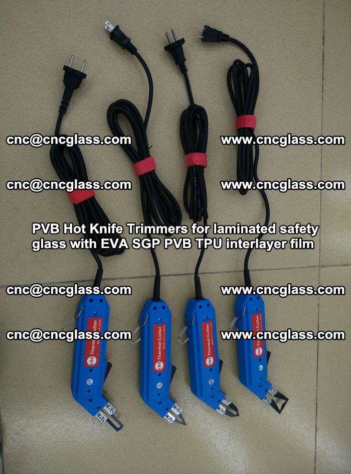 PVB Hot Knife Trimmers for laminated safety glass with EVA SGP PVB TPU interlayer film (59)