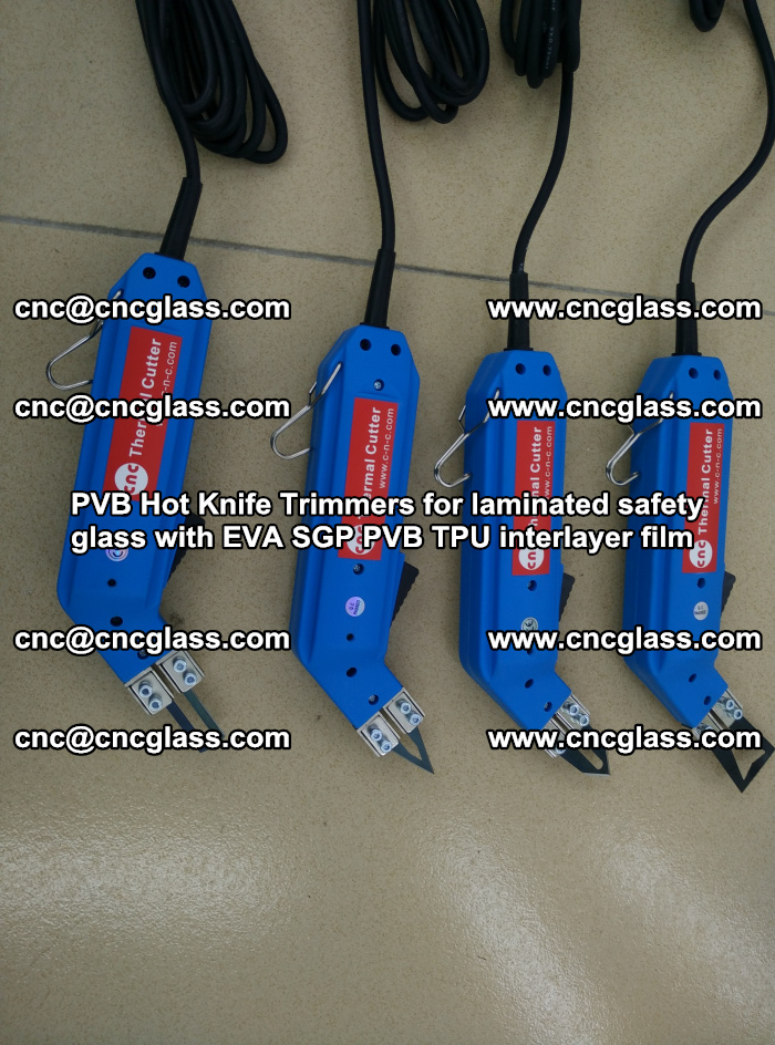 PVB Hot Knife Trimmers for laminated safety glass with EVA SGP PVB TPU interlayer film (64)