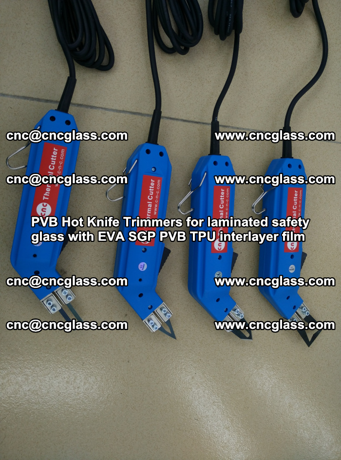 PVB Hot Knife Trimmers for laminated safety glass with EVA SGP PVB TPU interlayer film (65)