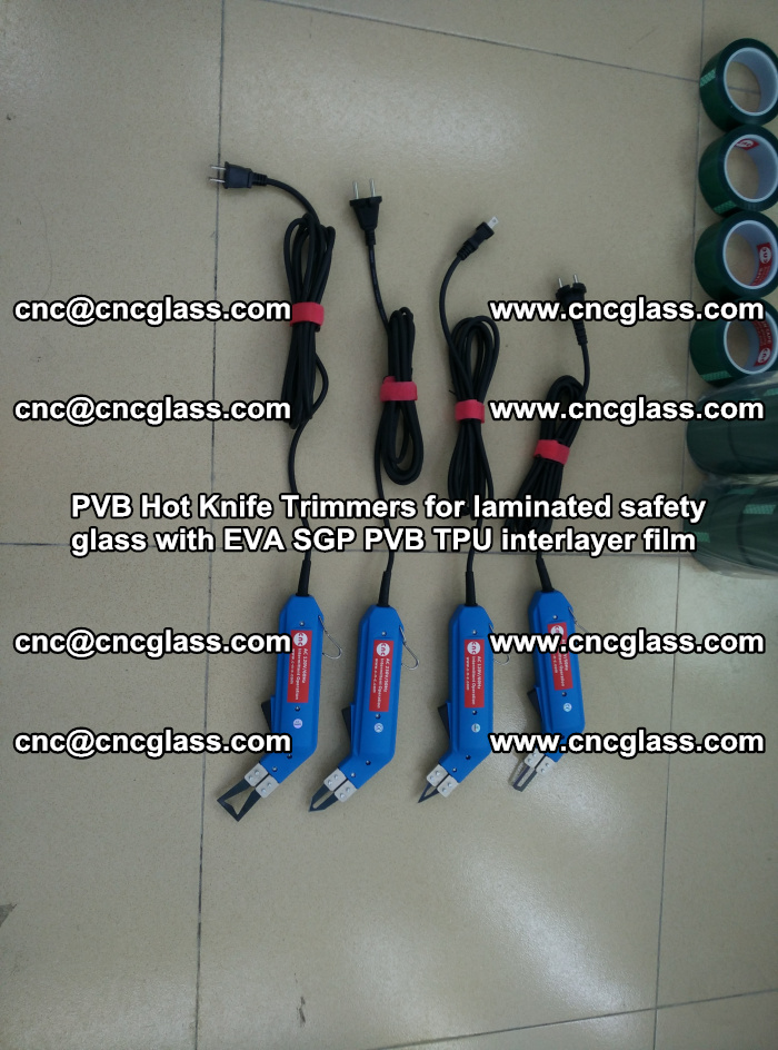 PVB Hot Knife Trimmers for laminated safety glass with EVA SGP PVB TPU interlayer film (72)