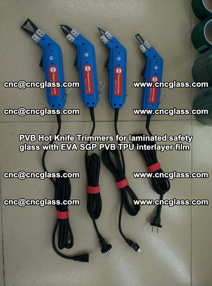 PVB Hot Knife Trimmers for laminated safety glass with EVA SGP PVB TPU interlayer film (8)