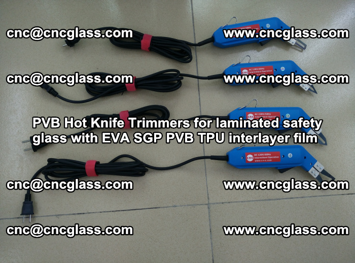 PVB Hot Knife Trimmers for laminated safety glass with EVA SGP PVB TPU interlayer film (82)