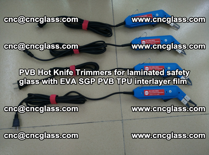 PVB Hot Knife Trimmers for laminated safety glass with EVA SGP PVB TPU interlayer film (83)
