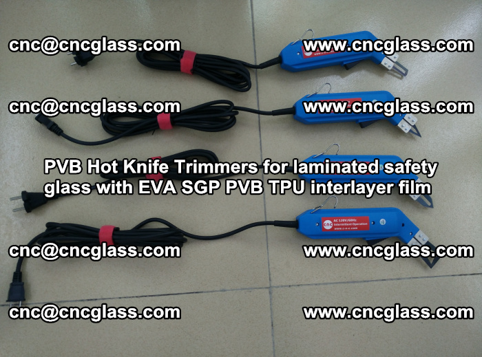 PVB Hot Knife Trimmers for laminated safety glass with EVA SGP PVB TPU interlayer film (85)