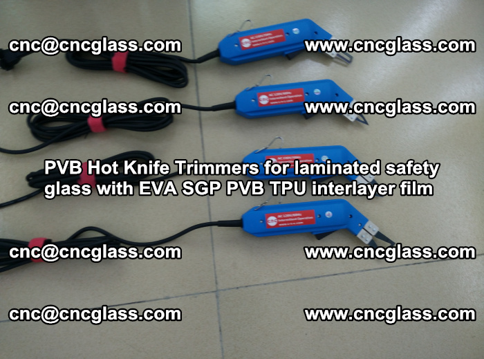 PVB Hot Knife Trimmers for laminated safety glass with EVA SGP PVB TPU interlayer film (86)