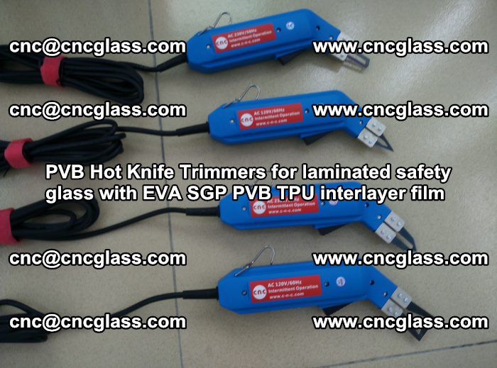 PVB Hot Knife Trimmers for laminated safety glass with EVA SGP PVB TPU interlayer film (89)