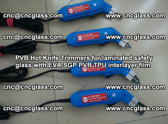 PVB Hot Knife Trimmers for laminated safety glass with EVA SGP PVB TPU interlayer film (90)