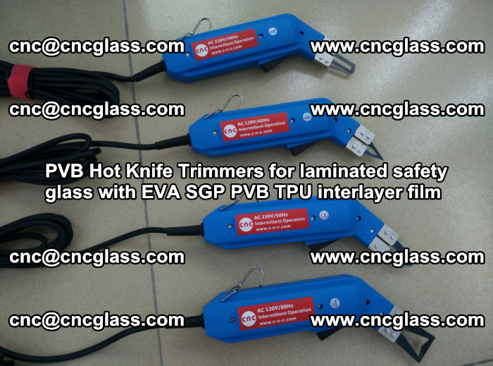 PVB Hot Knife Trimmers for laminated safety glass with EVA SGP PVB TPU interlayer film (91)