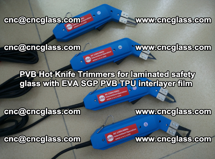 PVB Hot Knife Trimmers for laminated safety glass with EVA SGP PVB TPU interlayer film (93)