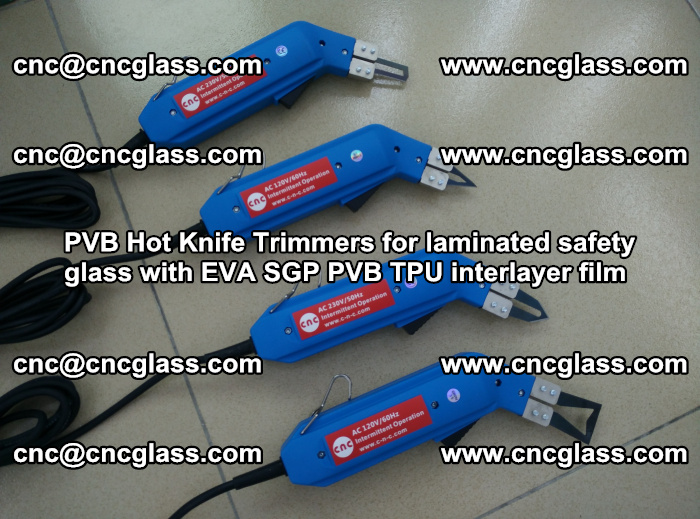 PVB Hot Knife Trimmers for laminated safety glass with EVA SGP PVB TPU interlayer film (94)