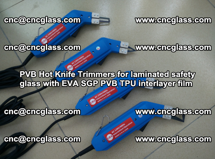 PVB Hot Knife Trimmers for laminated safety glass with EVA SGP PVB TPU interlayer film (95)