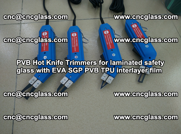 PVB Hot Knife Trimmers for laminated safety glass with EVA SGP PVB TPU interlayer film (96)