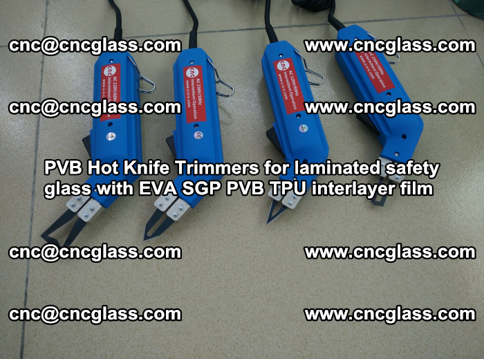 PVB Hot Knife Trimmers for laminated safety glass with EVA SGP PVB TPU interlayer film (97)