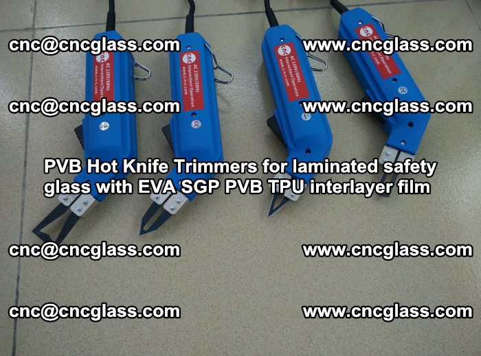 PVB Hot Knife Trimmers for laminated safety glass with EVA SGP PVB TPU interlayer film (98)
