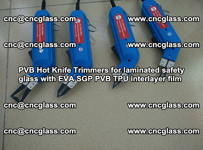 PVB Hot Knife Trimmers for laminated safety glass with EVA SGP PVB TPU interlayer film (99)