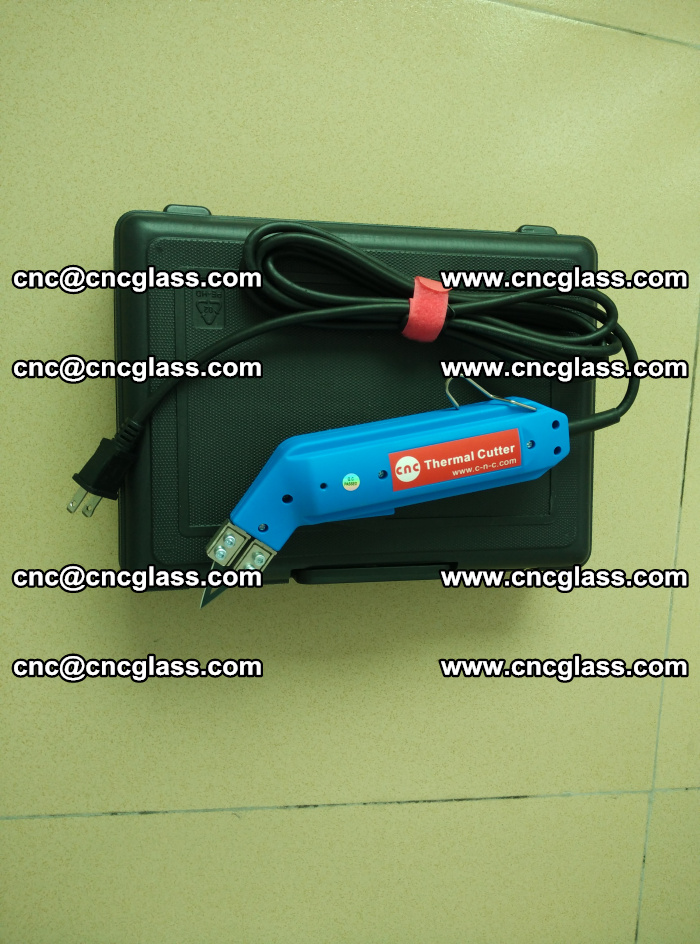 Thermal Knife trimmer for laminated glass edges cleaning (13)