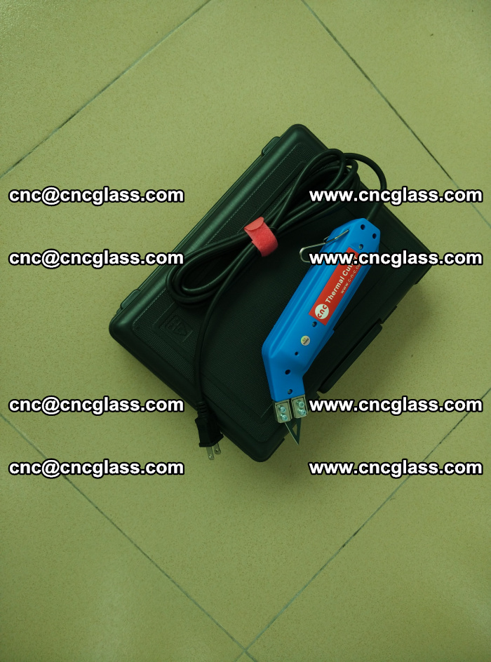 Thermal Knife trimmer for laminated glass edges cleaning (18)