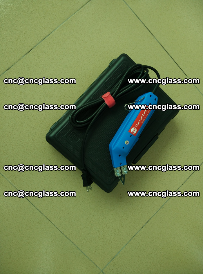 Thermal Knife trimmer for laminated glass edges cleaning (19)