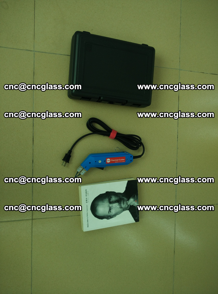 Thermal Knife trimmer for laminated glass edges cleaning (32)