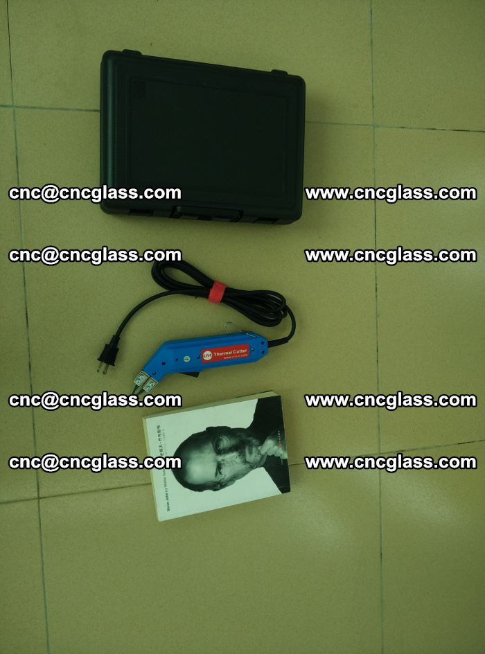 Thermal Knife trimmer for laminated glass edges cleaning (38)