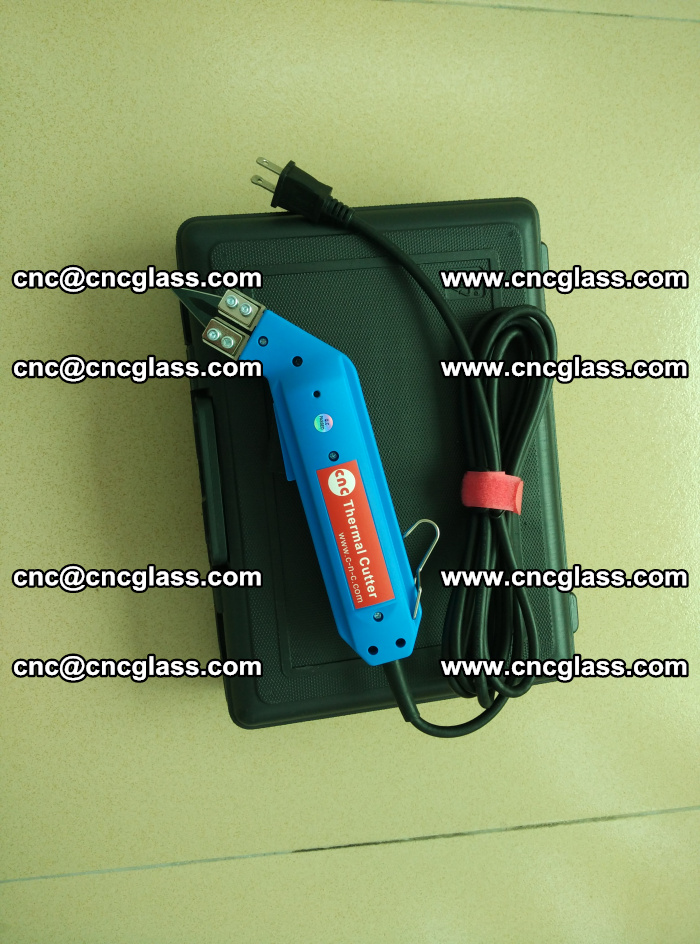 Thermal Knife trimmer for laminated glass edges cleaning (4)