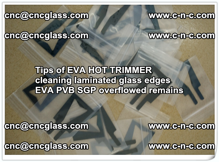 Tips of EVA HOT TRIMMER cleaning laminated glass edges  (59)