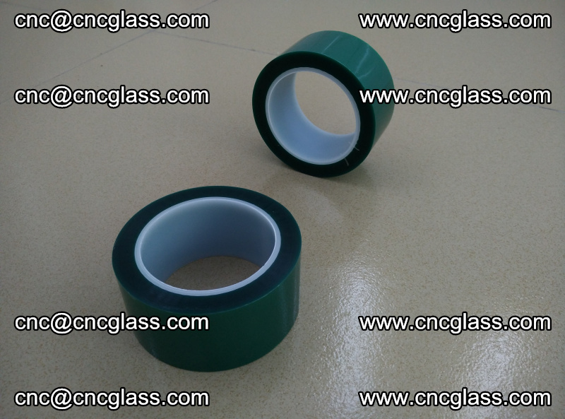 Eva glass laminating interlayer film foil (PET GREEN TAPE high temperature) (10)
