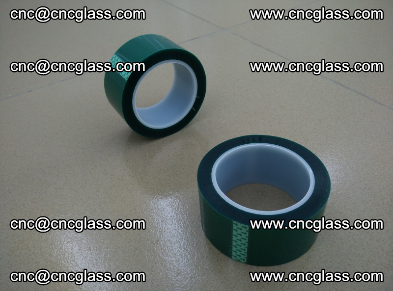 Eva glass laminating interlayer film foil (PET GREEN TAPE high temperature) (15)