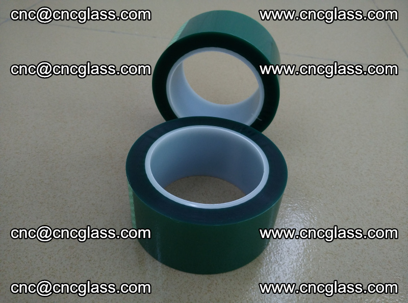 Eva glass laminating interlayer film foil (PET GREEN TAPE high temperature) (4)