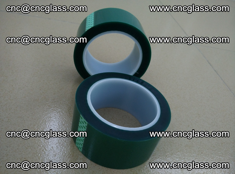 Eva glass laminating interlayer film foil (PET GREEN TAPE high temperature) (7)