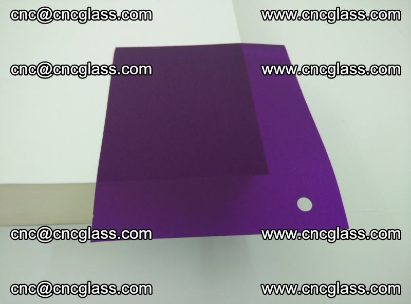 Eva glass laminating interlayer film foil (transparent purple color) (13)