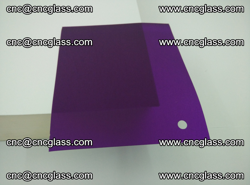 Eva glass laminating interlayer film foil (transparent purple color) (17)