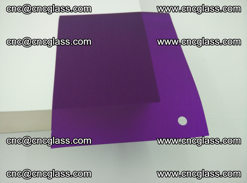 Eva glass laminating interlayer film foil (transparent purple color) (19)