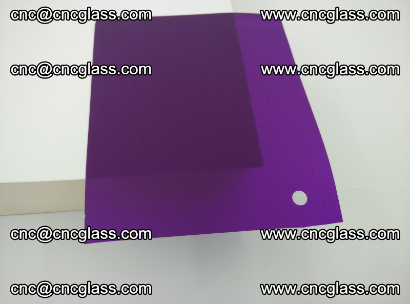 Eva glass laminating interlayer film foil (transparent purple color) (20)