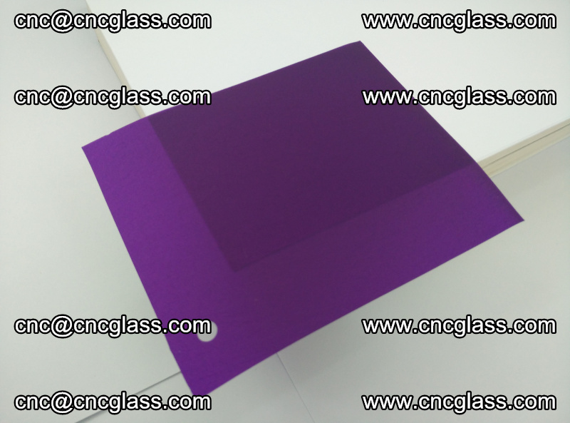 Eva glass laminating interlayer film foil (transparent purple color) (3)