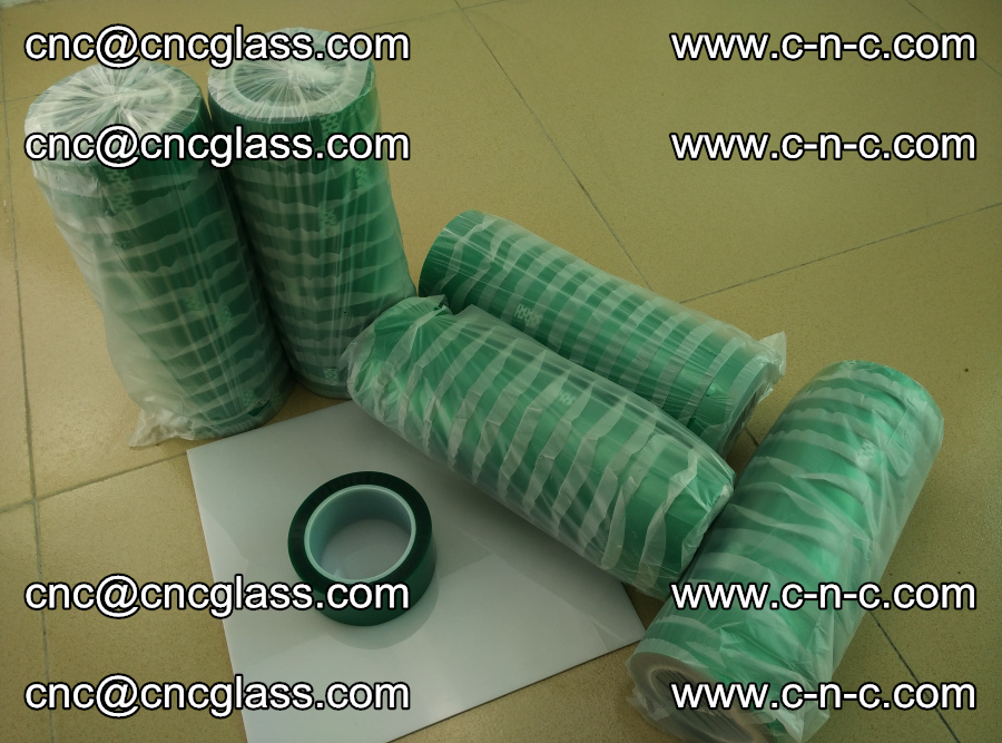 PET GREEN TAPE for safety glazing EVA PVB SGP 20150428 (1)