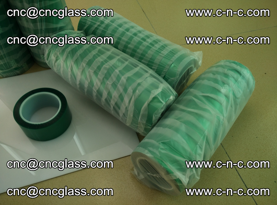 PET GREEN TAPE for safety glazing EVA PVB SGP 20150428 (10)