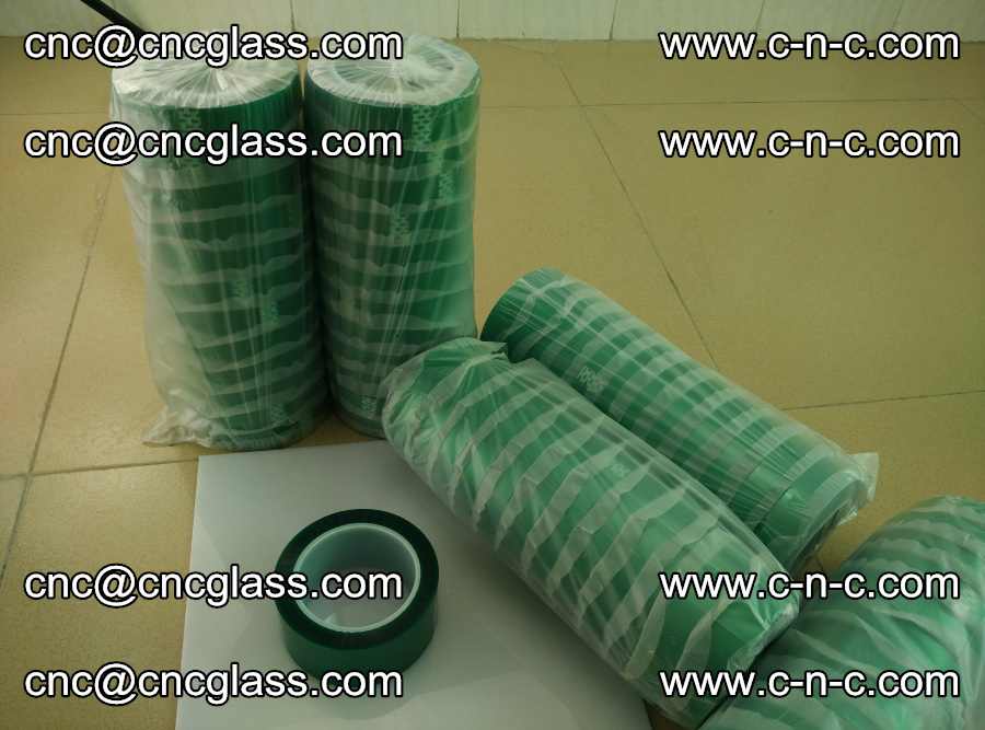 PET GREEN TAPE for safety glazing EVA PVB SGP 20150428 (12)