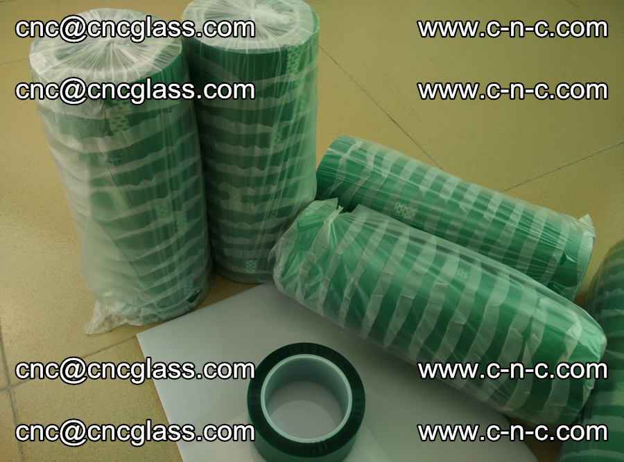 PET GREEN TAPE for safety glazing EVA PVB SGP 20150428 (13)