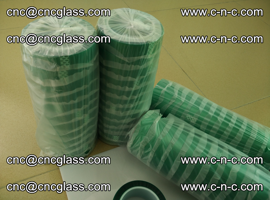 PET GREEN TAPE for safety glazing EVA PVB SGP 20150428 (14)