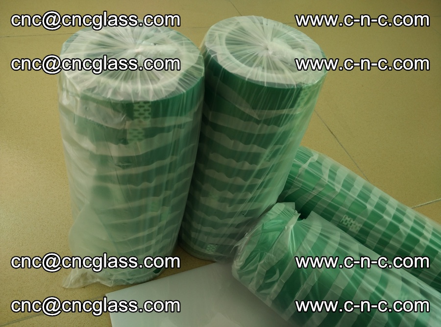 PET GREEN TAPE for safety glazing EVA PVB SGP 20150428 (15)