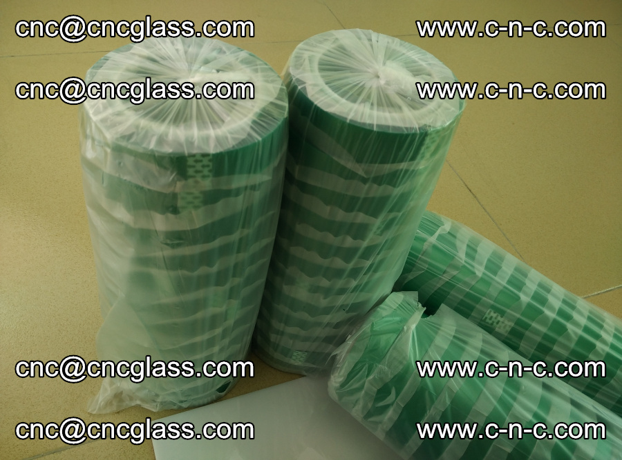 PET GREEN TAPE for safety glazing EVA PVB SGP 20150428 (16)