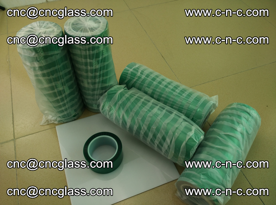 PET GREEN TAPE for safety glazing EVA PVB SGP 20150428 (2)