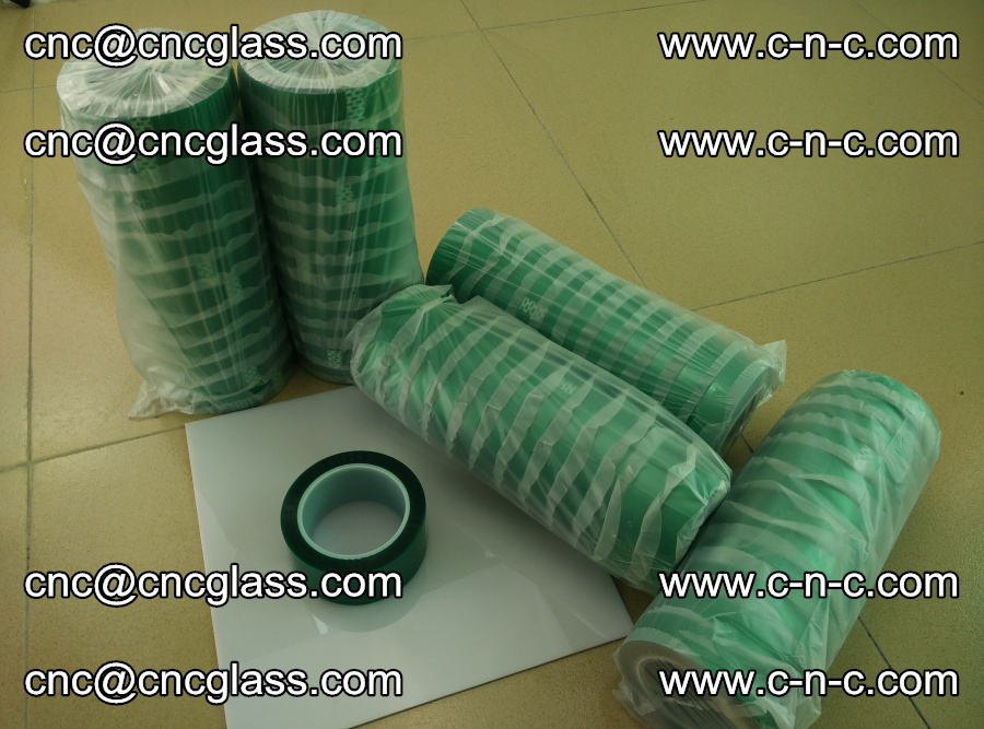 PET GREEN TAPE for safety glazing EVA PVB SGP 20150428 (3)