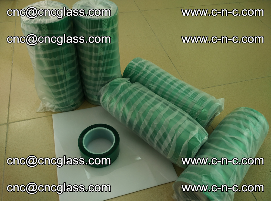 PET GREEN TAPE for safety glazing EVA PVB SGP 20150428 (4)