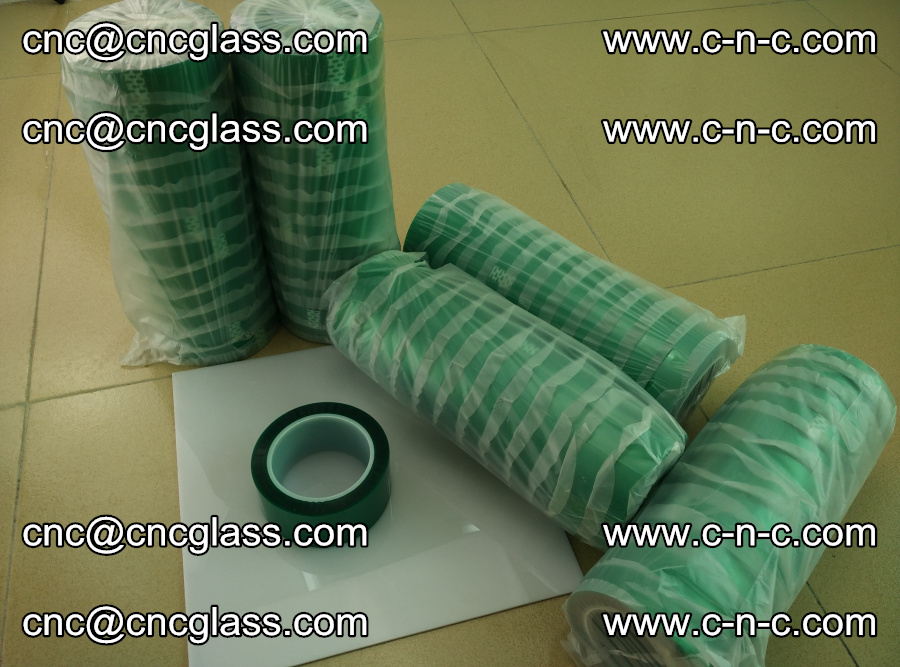 PET GREEN TAPE for safety glazing EVA PVB SGP 20150428 (5)