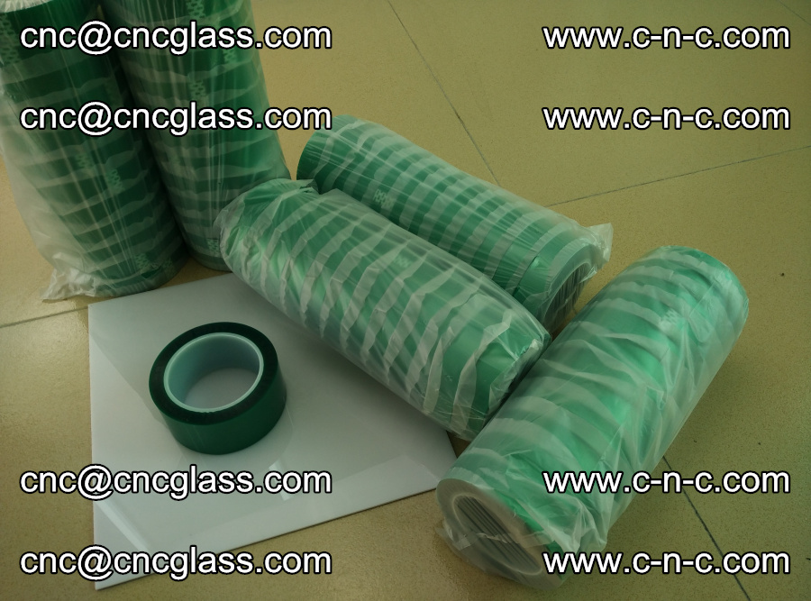 PET GREEN TAPE for safety glazing EVA PVB SGP 20150428 (7)