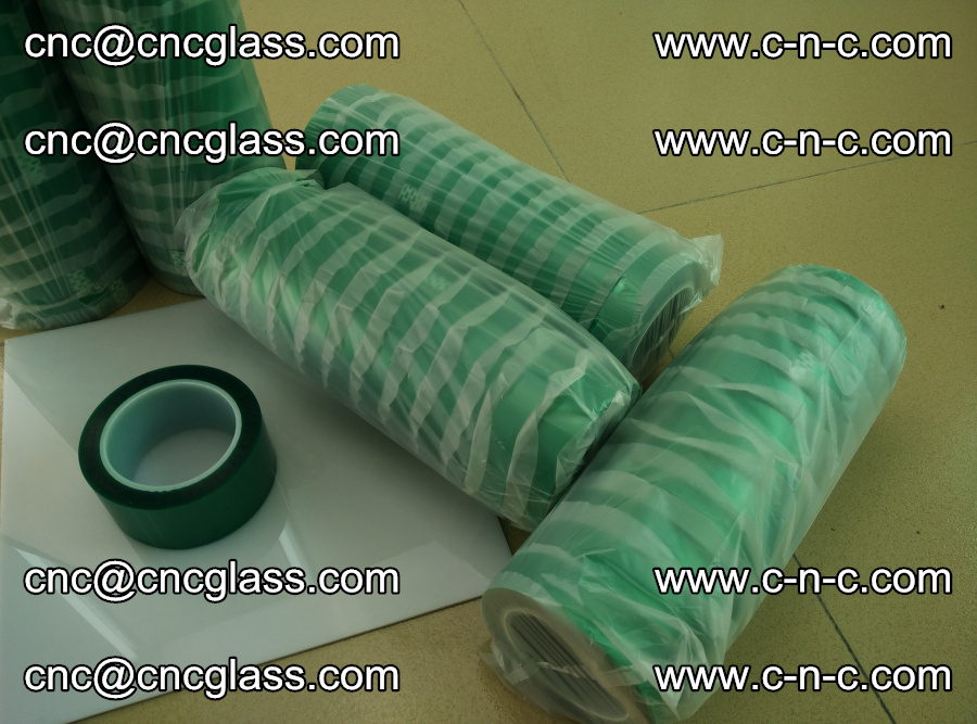 PET GREEN TAPE for safety glazing EVA PVB SGP 20150428 (8)