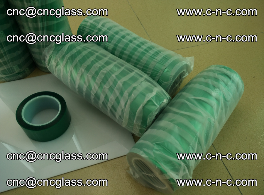PET GREEN TAPE for safety glazing EVA PVB SGP 20150428 (9)